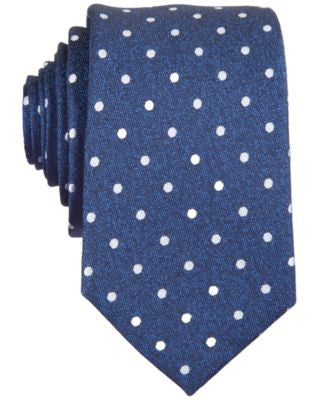 Bar III Hyde Dot Skinny Tie
