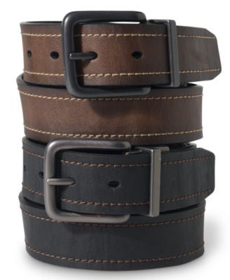 Levi's 35MM Cut Edge Reversible Leather Belt