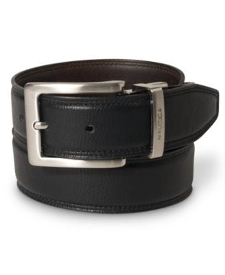 Nautica 35MM Reversible Leather Belt