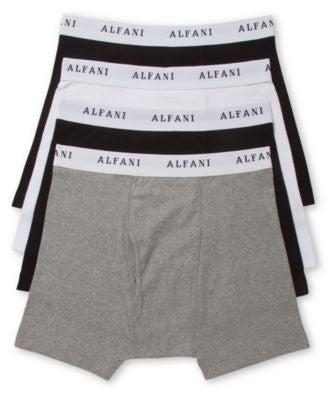 Alfani Tagless Boxer Brief 4 Pack