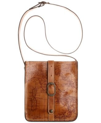 Patricia Nash Signature Map Venezia Pouch Crossbody