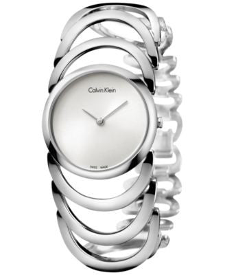 Calvin Klein Women's Swiss Body Stainless Steel Bracelet Watch 30mm K4G23126