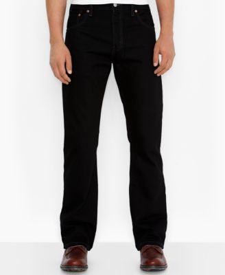 Levi's Men's 517 Bootcut Fit Black Jeans
