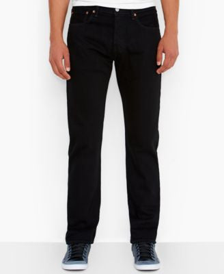 Levi's Men's Big and Tall 501 Original Fit Black Jeans