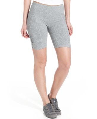Calvin Klein Performance Shorts, Skinny Ruched Bike Shorts