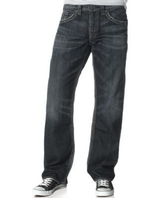 Silver Jeans Men's Gordie Loose-Fit Jeans
