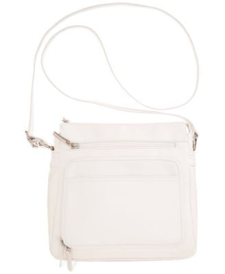 Giani Bernini Nappa Leather Front Zip Crossbody