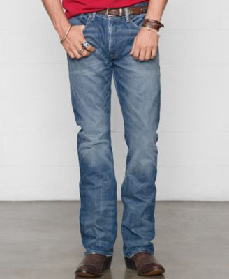 Denim & Supply Ralph Lauren Men's Bootcut Traverse-Wash Jeans