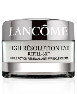 Lancôme High Résolution Refill-3X Triple Action Renewal Anti-Wrinkle Eye Cream, .5 oz