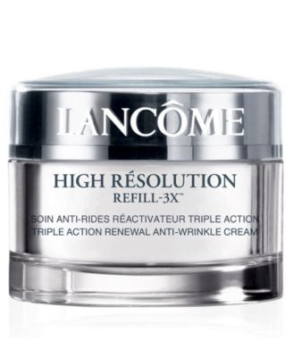 Lancôme High Resolution Refill-3x Triple Action Renewal Anti-Wrinkle Cream, 1.7 oz