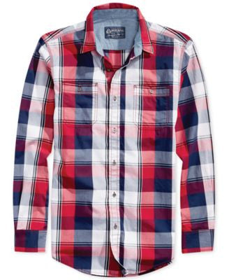 American Rag Men's American Plaid Shirt