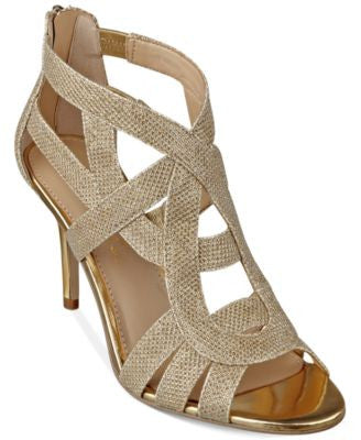 Marc Fisher Nala Mid Heel Evening Sandals