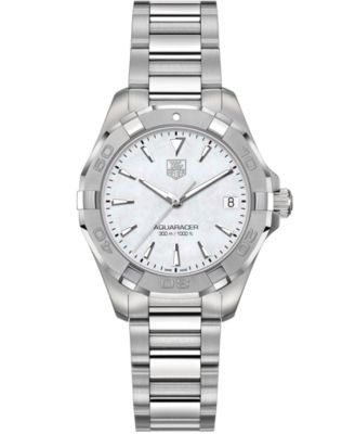 TAG Heuer Women's Swiss Aquaracer Stainless Steel Bracelet Watch 32mm WAY1312.BA0915