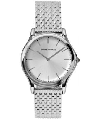 Emporio Armani Unisex Swiss Stainless Steel Bracelet Watch 36mm ARS2006