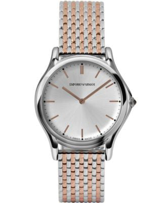 Emporio Armani Unisex Swiss Two-Tone Stainless Steel Bracelet Watch 36mm ARS2007