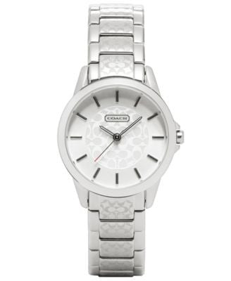 COACH WOMEN'S CLASSIC SIGNATURE SMALL BRACELET WATCH 32MM 14501609