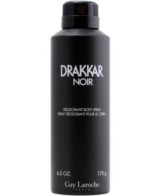 Drakkar Noir Deodorant Body Spray, 6 oz