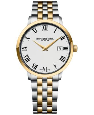 RAYMOND WEIL Men's Swiss Toccata Two-Tone Stainless Steel Bracelet Watch 39mm 5488-STP-00300