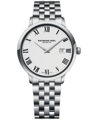 RAYMOND WEIL Men's Swiss Toccata Stainless Steel Bracelet Watch 39mm 5488-ST-00300