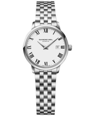 RAYMOND WEIL Women's Swiss Toccata Stainless Steel Bracelet Watch 29mm 5988-ST-00300