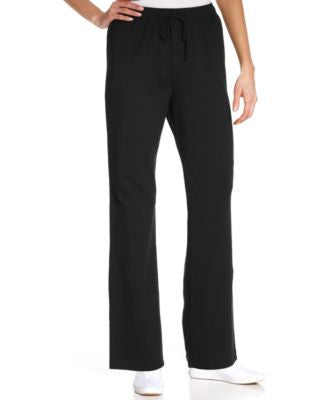 Karen Scott Drawstring Lounge Pants