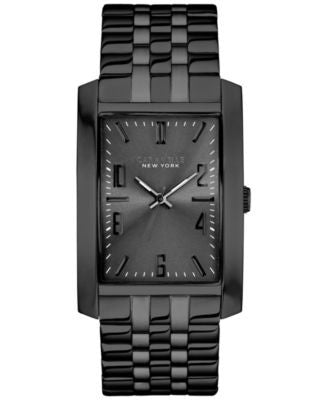 Caravelle New York by Bulova Men's Black-Tone Stainless Steel Bracelet Watch 44x30m 45A117