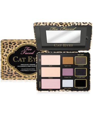 Too Faced Cat Eyes Ferociously Feminine Eye Shadow & Liner Collection
