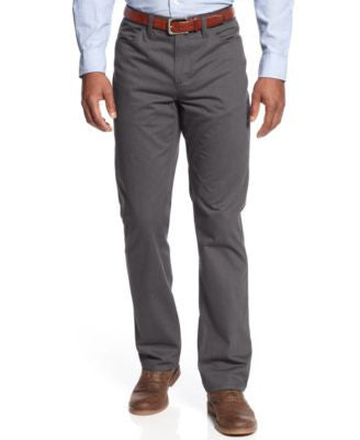 Alfani Slim Fit Pinstripe 5-Pocket Pant