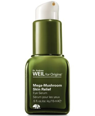 Origins Plantidote Mega-Mushroom Eye Serum To optimize skin's defenses 0.5 fl. oz.