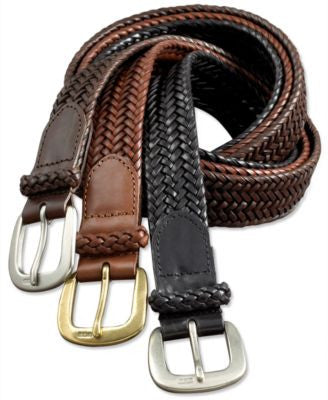 Polo Ralph Lauren Men's Belt, Core Derby Braided Belt
