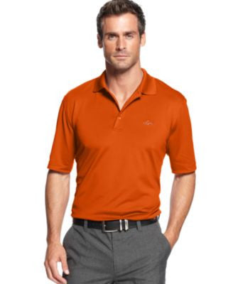 Greg Norman for Tasso Elba 5 Iron Performance Golf Polo