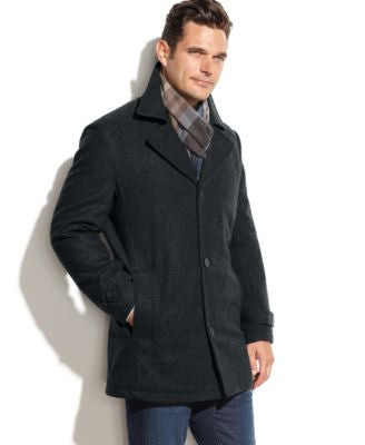London Fog Big & Tall Classic Car Coat