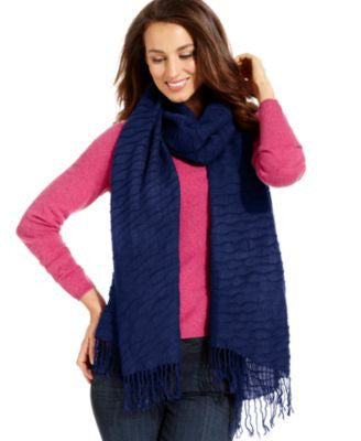 Echo Pineapple Pleat Scarf