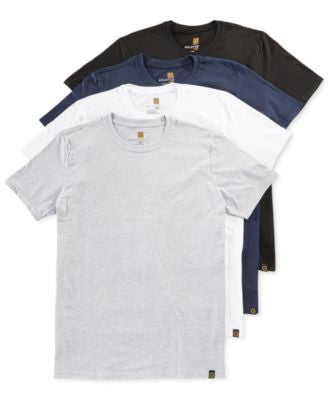 Gold Toe Men's Crew-Neck T-Shirt 4-Pack