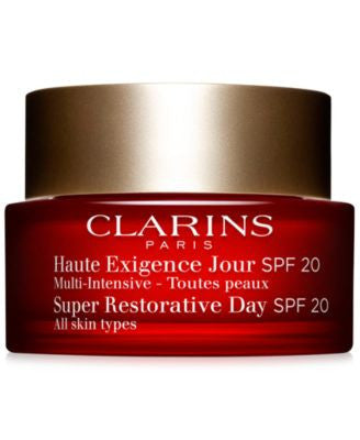 Clarins Super Restorative Day Cream with SPF 20, 1.7 oz.