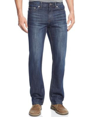 Alfani Big and Tall Straight-Leg Colton Jeans