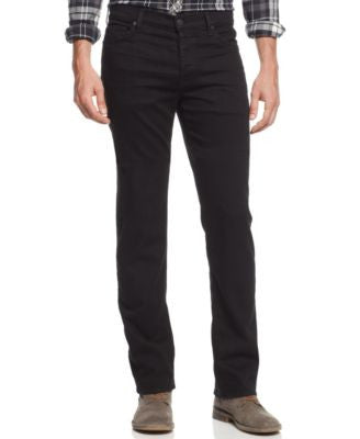 7 For All Mankind Men's Luxe Performance Straight-Leg Standard Classic Jeans