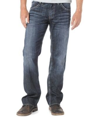 Silver Jeans Men's Zac Relaxed-Fit Straight-Leg Jeans
