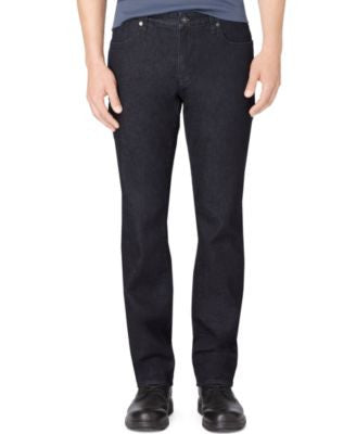 Calvin Klein Men's Indigo Slim-Straight Fit Jeans