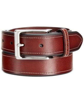 Tasso Elba Brogue Keeper Casual Belt
