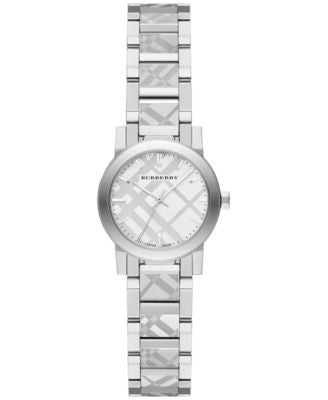 Burberry Women's Swiss Stainless Steel Bracelet Watch 26mm BU9233