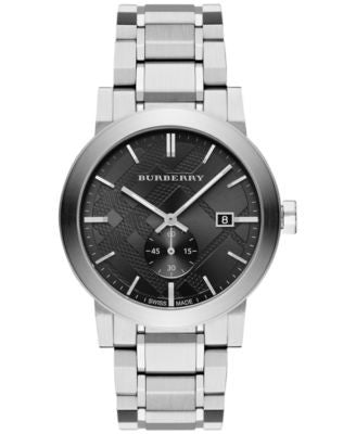 Burberry Men's Swiss Stainless Steel Bracelet Watch 42mm BU9901