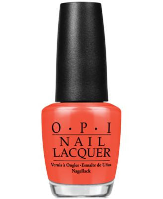 OPI Nail Lacquer, A Good Man-darin is Hard to Find