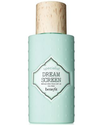 Benefit Cosmetics dream screen SPF 45 invisible silkymatte sunscreen