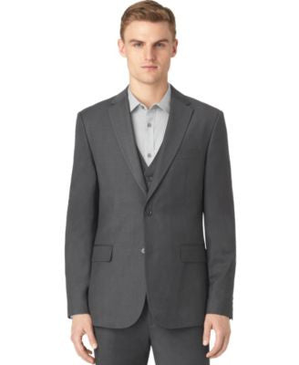 Calvin Klein Men's Granite Heather Jacket