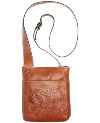 Patricia Nash Tooled Stipes Sling