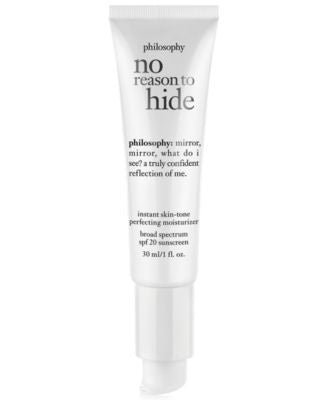 philosophy no reason to hide cc cream