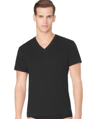 Calvin Klein Men's Classic V-Neck T-Shirt 3-Pack M4065