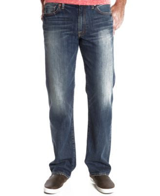 Lucky Brand Men's 361 Vintage-Fit Straight Mahogany Jeans