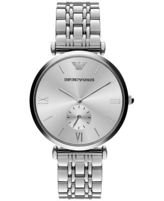 Emporio Armani Unisex Stainless Steel Bracelet Watch 40mm AR1819